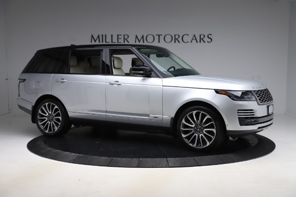 Used 2019 Land Rover Range Rover Supercharged LWB for sale Sold at Alfa Romeo of Greenwich in Greenwich CT 06830 10