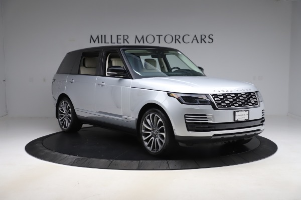 Used 2019 Land Rover Range Rover Supercharged LWB for sale Sold at Alfa Romeo of Greenwich in Greenwich CT 06830 11
