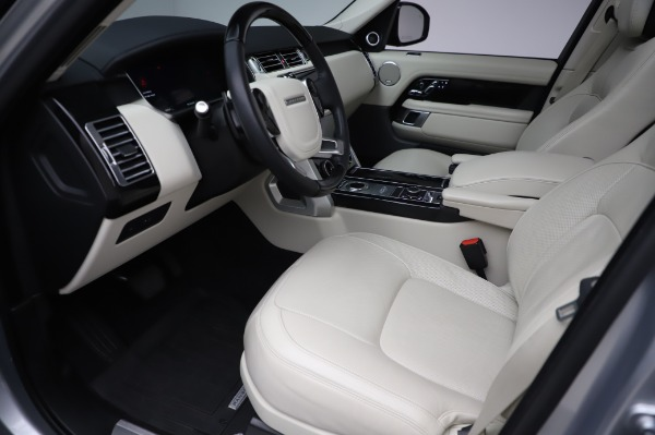 Used 2019 Land Rover Range Rover Supercharged LWB for sale Sold at Alfa Romeo of Greenwich in Greenwich CT 06830 13