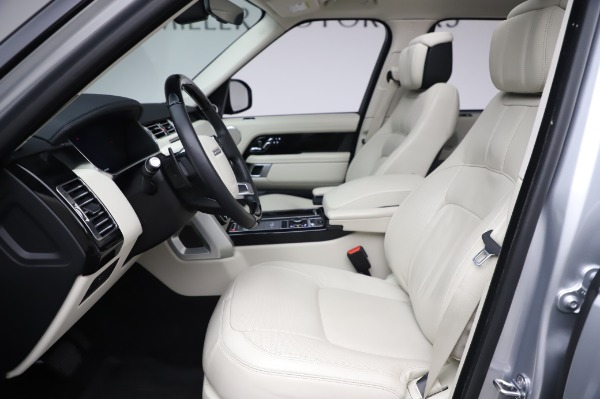 Used 2019 Land Rover Range Rover Supercharged LWB for sale Sold at Alfa Romeo of Greenwich in Greenwich CT 06830 14