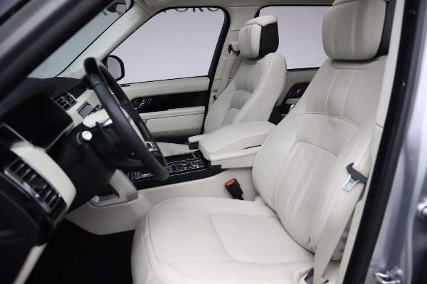 Used 2019 Land Rover Range Rover Supercharged LWB for sale Sold at Alfa Romeo of Greenwich in Greenwich CT 06830 15