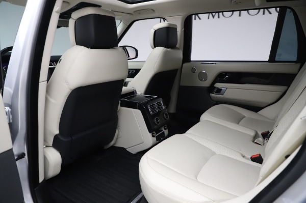 Used 2019 Land Rover Range Rover Supercharged LWB for sale Sold at Alfa Romeo of Greenwich in Greenwich CT 06830 16