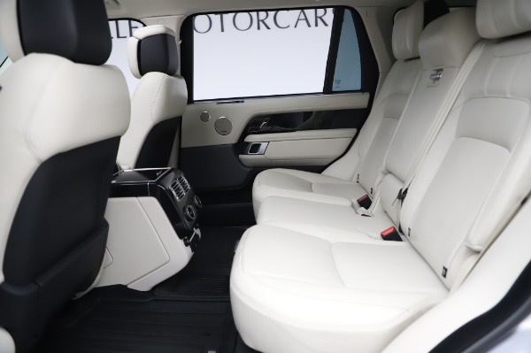Used 2019 Land Rover Range Rover Supercharged LWB for sale Sold at Alfa Romeo of Greenwich in Greenwich CT 06830 17