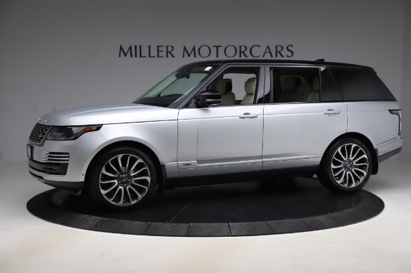 Used 2019 Land Rover Range Rover Supercharged LWB for sale Sold at Alfa Romeo of Greenwich in Greenwich CT 06830 2