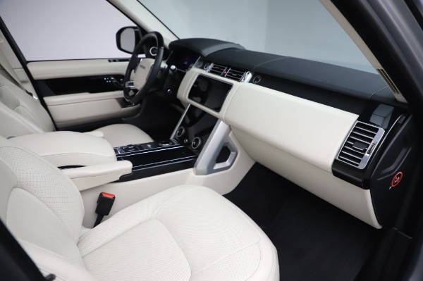 Used 2019 Land Rover Range Rover Supercharged LWB for sale Sold at Alfa Romeo of Greenwich in Greenwich CT 06830 20