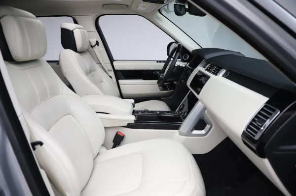 Used 2019 Land Rover Range Rover Supercharged LWB for sale Sold at Alfa Romeo of Greenwich in Greenwich CT 06830 21