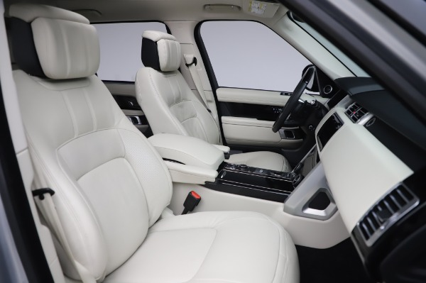 Used 2019 Land Rover Range Rover Supercharged LWB for sale Sold at Alfa Romeo of Greenwich in Greenwich CT 06830 22