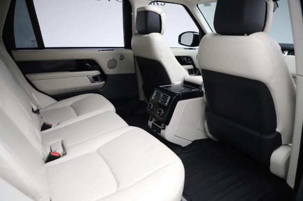 Used 2019 Land Rover Range Rover Supercharged LWB for sale Sold at Alfa Romeo of Greenwich in Greenwich CT 06830 23