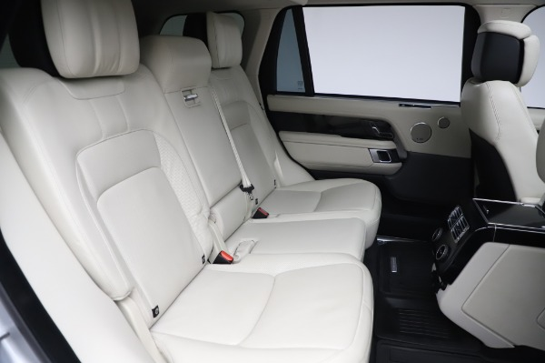 Used 2019 Land Rover Range Rover Supercharged LWB for sale Sold at Alfa Romeo of Greenwich in Greenwich CT 06830 24