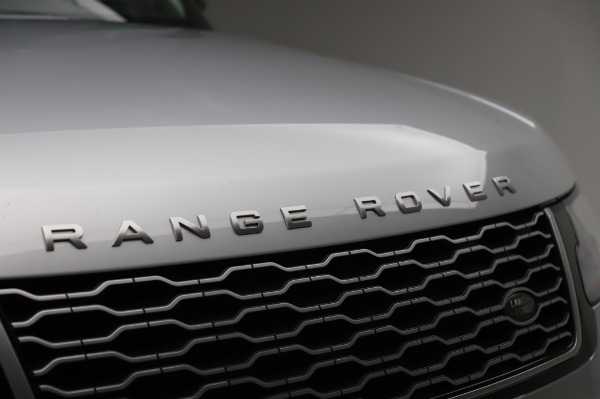 Used 2019 Land Rover Range Rover Supercharged LWB for sale Sold at Alfa Romeo of Greenwich in Greenwich CT 06830 27