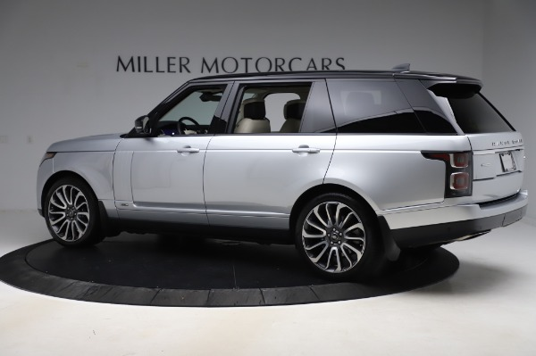 Used 2019 Land Rover Range Rover Supercharged LWB for sale Sold at Alfa Romeo of Greenwich in Greenwich CT 06830 4