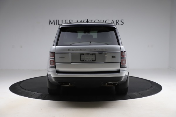 Used 2019 Land Rover Range Rover Supercharged LWB for sale Sold at Alfa Romeo of Greenwich in Greenwich CT 06830 6