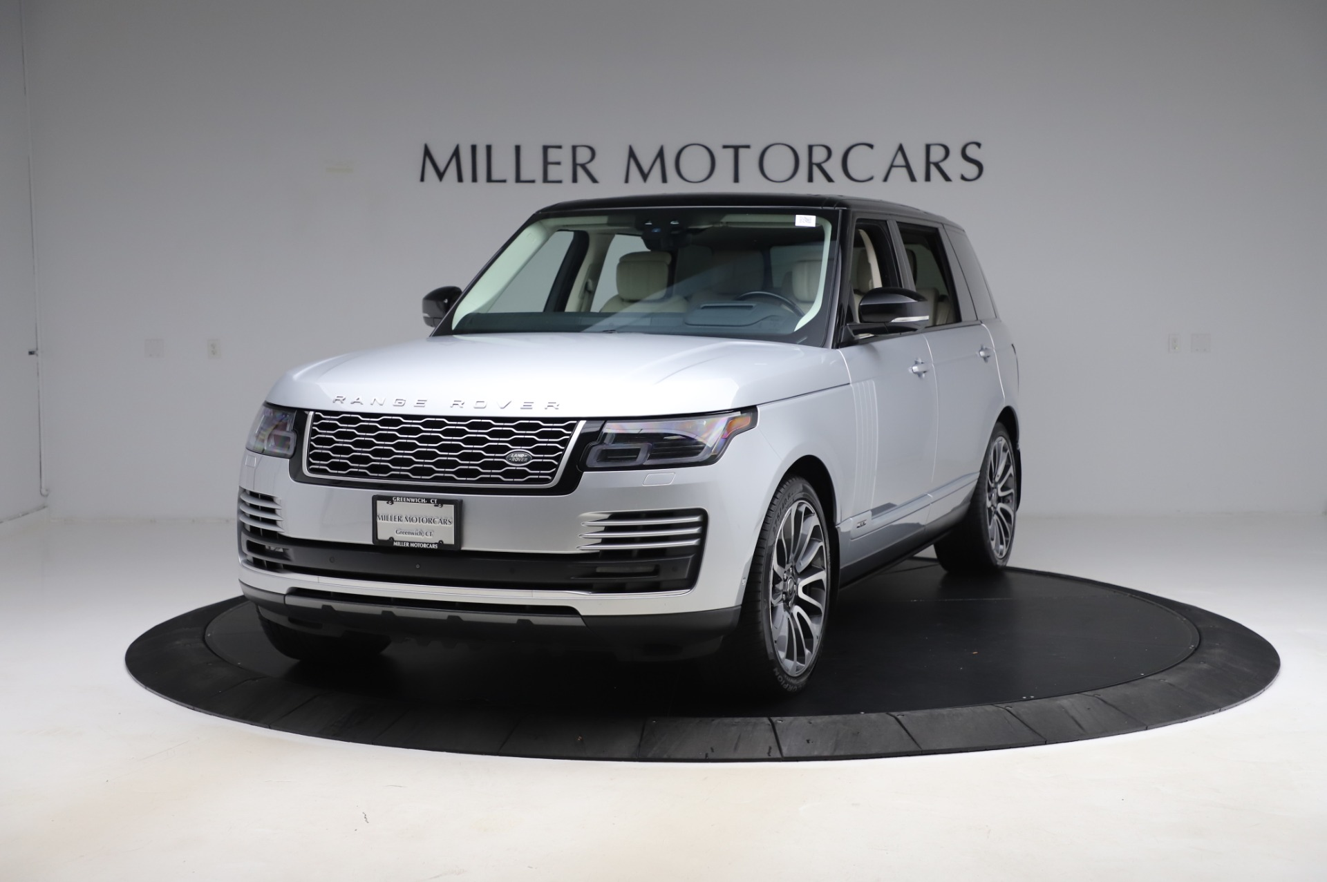 Used 2019 Land Rover Range Rover Supercharged LWB for sale Sold at Alfa Romeo of Greenwich in Greenwich CT 06830 1