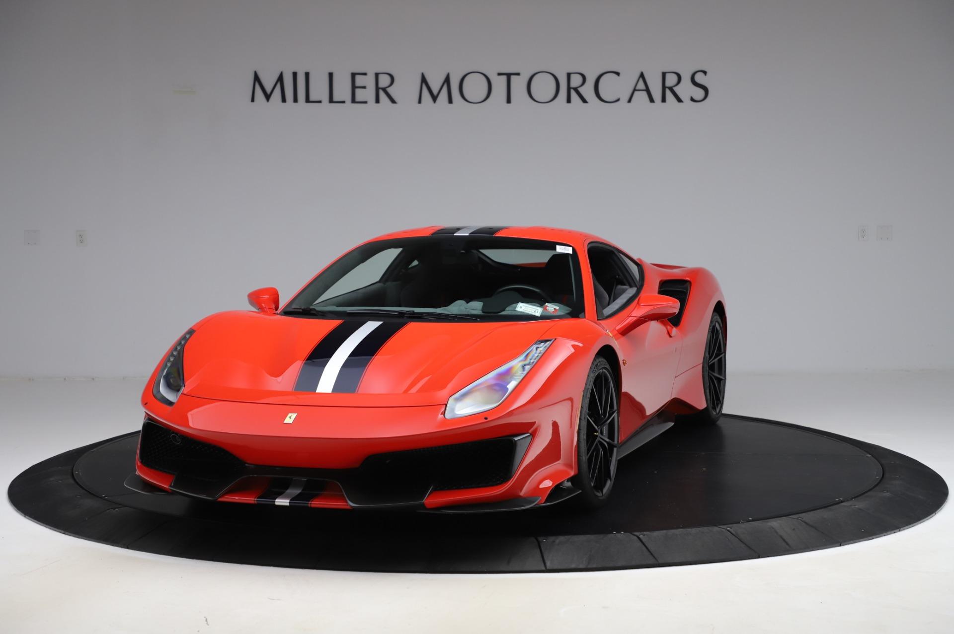 Used 2020 Ferrari 488 Pista for sale $439,900 at Alfa Romeo of Greenwich in Greenwich CT 06830 1