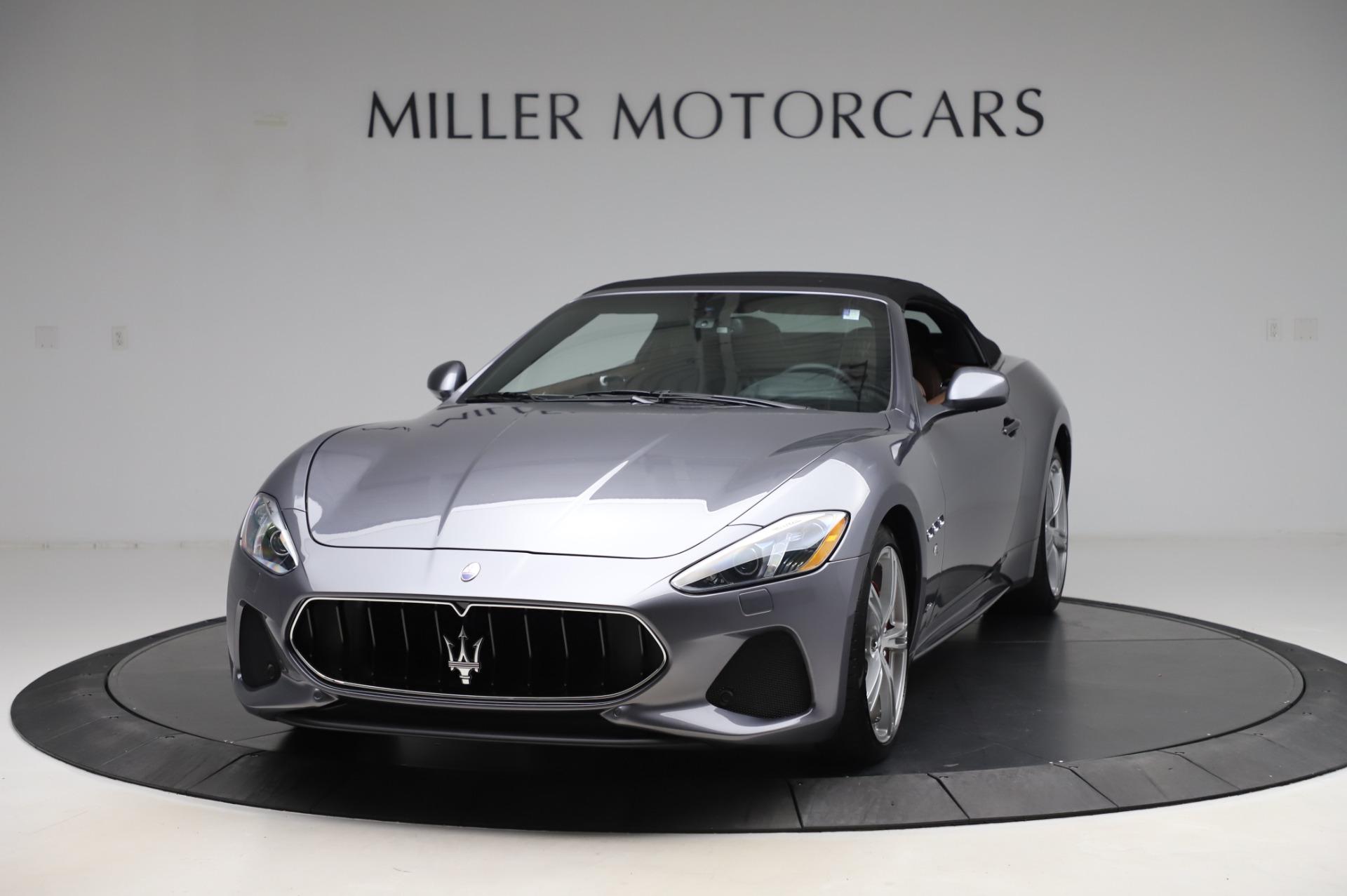 New 2019 Maserati GranTurismo Sport for sale Sold at Alfa Romeo of Greenwich in Greenwich CT 06830 1