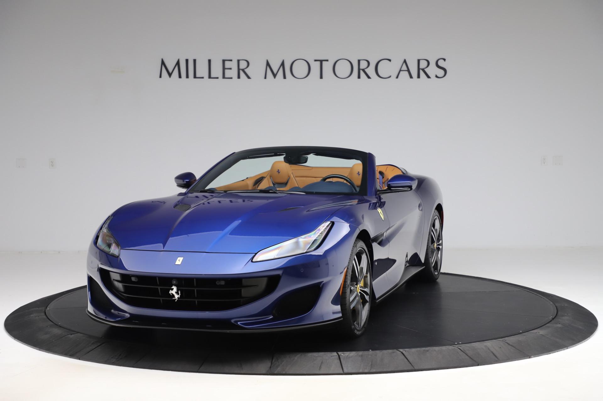 Used 2019 Ferrari Portofino for sale Sold at Alfa Romeo of Greenwich in Greenwich CT 06830 1