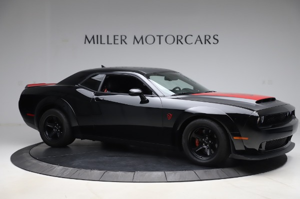 Used 2018 Dodge Challenger SRT Demon for sale Sold at Alfa Romeo of Greenwich in Greenwich CT 06830 10