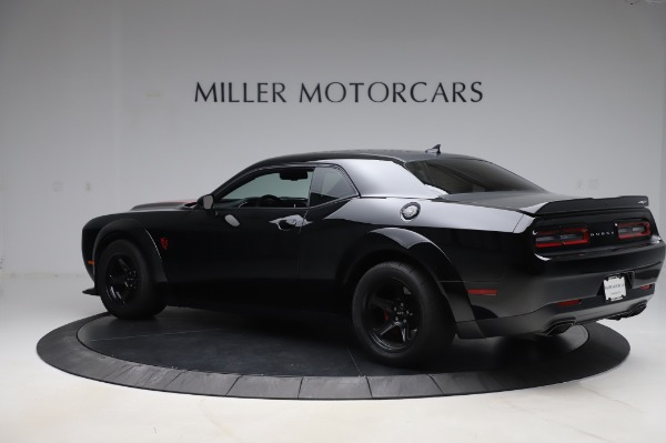 Used 2018 Dodge Challenger SRT Demon for sale Sold at Alfa Romeo of Greenwich in Greenwich CT 06830 4