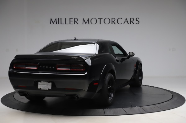 Used 2018 Dodge Challenger SRT Demon for sale Sold at Alfa Romeo of Greenwich in Greenwich CT 06830 7
