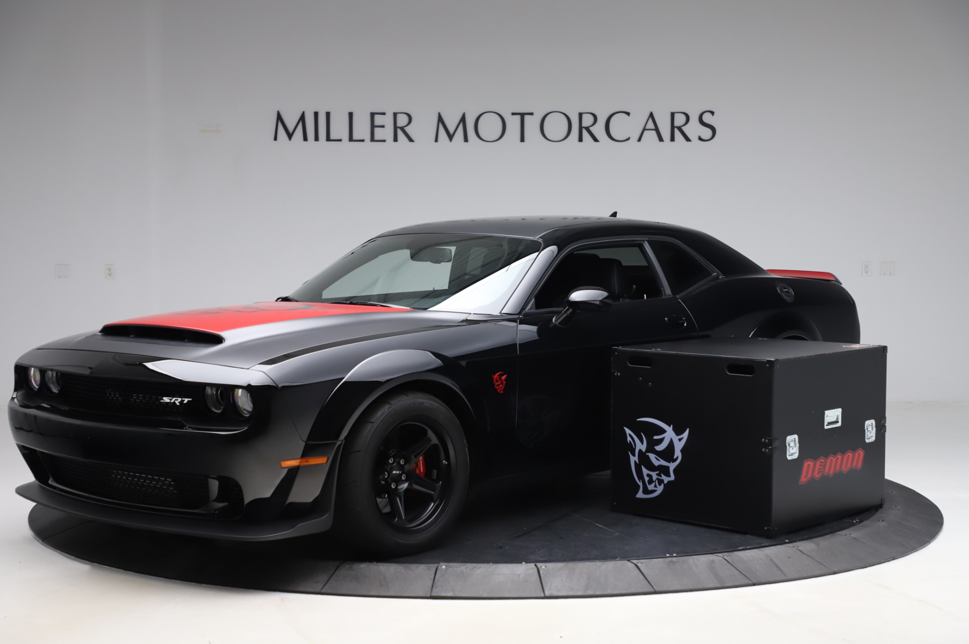 Used 2018 Dodge Challenger SRT Demon for sale Sold at Alfa Romeo of Greenwich in Greenwich CT 06830 1