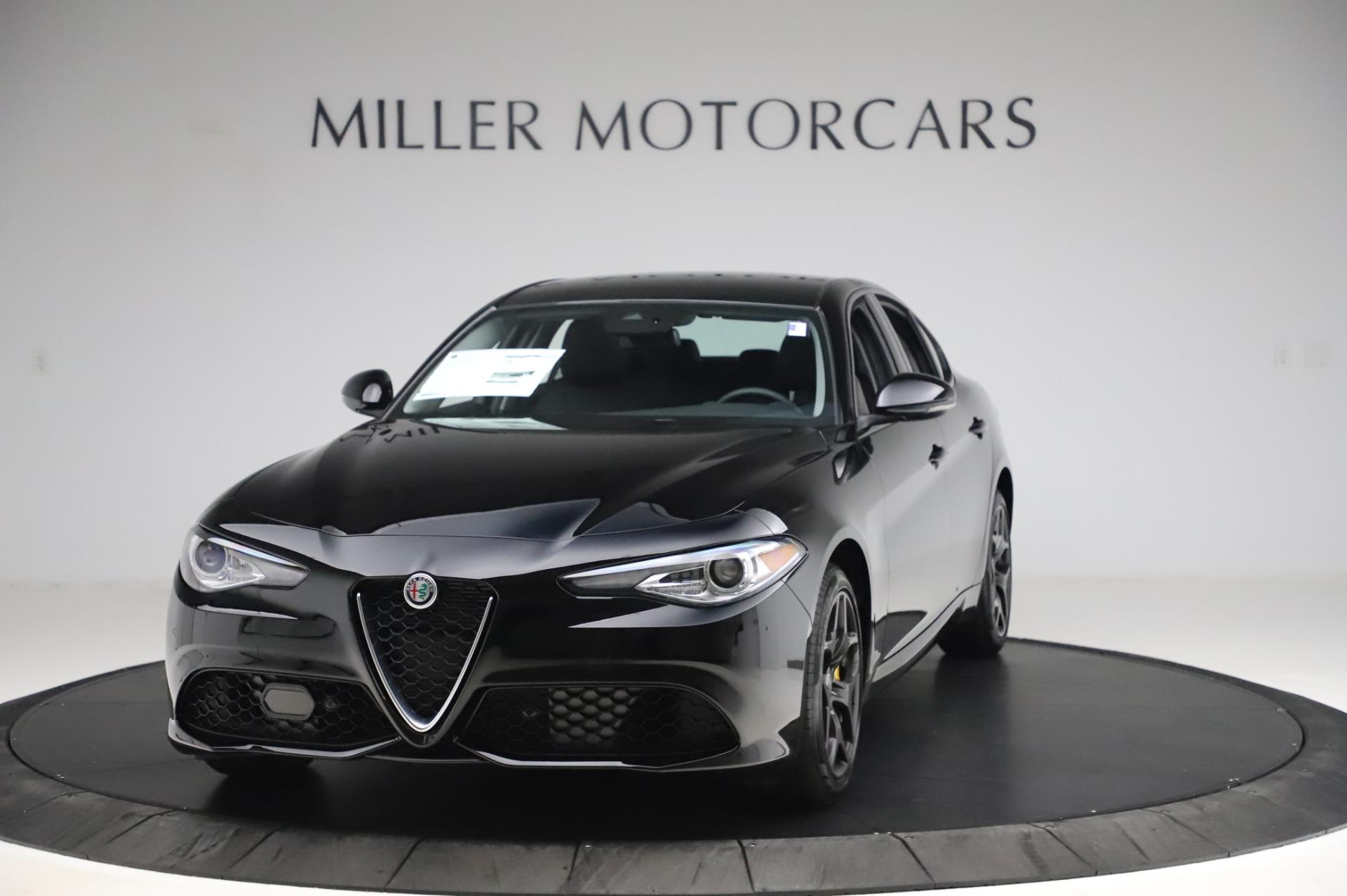 New 2020 Alfa Romeo Giulia Sport Q4 for sale $48,895 at Alfa Romeo of Greenwich in Greenwich CT 06830 1