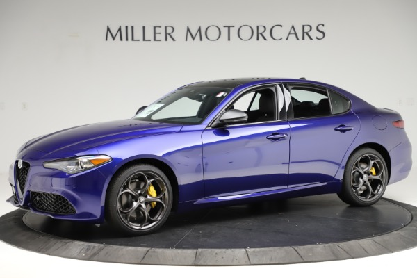 New 2020 Alfa Romeo Giulia Ti Sport Q4 for sale $52,995 at Alfa Romeo of Greenwich in Greenwich CT 06830 2