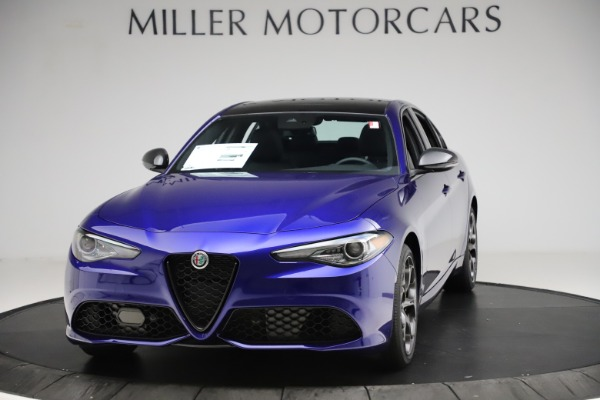 New 2020 Alfa Romeo Giulia Ti Sport Q4 for sale $52,995 at Alfa Romeo of Greenwich in Greenwich CT 06830 1