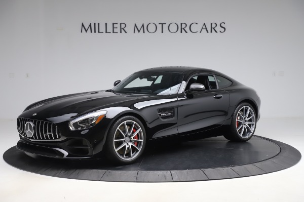 Used 2018 Mercedes-Benz AMG GT S for sale Call for price at Alfa Romeo of Greenwich in Greenwich CT 06830 2