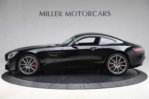 Used 2018 Mercedes-Benz AMG GT S for sale Call for price at Alfa Romeo of Greenwich in Greenwich CT 06830 3