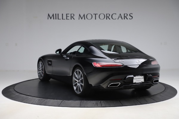 Used 2018 Mercedes-Benz AMG GT S for sale Call for price at Alfa Romeo of Greenwich in Greenwich CT 06830 5