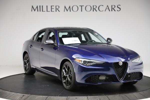 New 2020 Alfa Romeo Giulia Ti Q4 for sale $43,545 at Alfa Romeo of Greenwich in Greenwich CT 06830 11