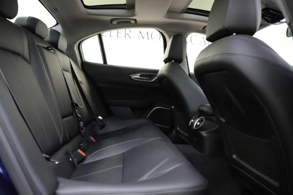 New 2020 Alfa Romeo Giulia Ti Q4 for sale $43,545 at Alfa Romeo of Greenwich in Greenwich CT 06830 25
