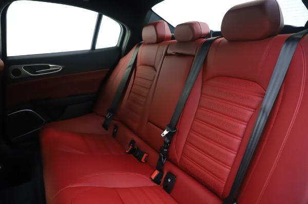 New 2020 Alfa Romeo Giulia Ti Sport Q4 for sale $46,495 at Alfa Romeo of Greenwich in Greenwich CT 06830 18