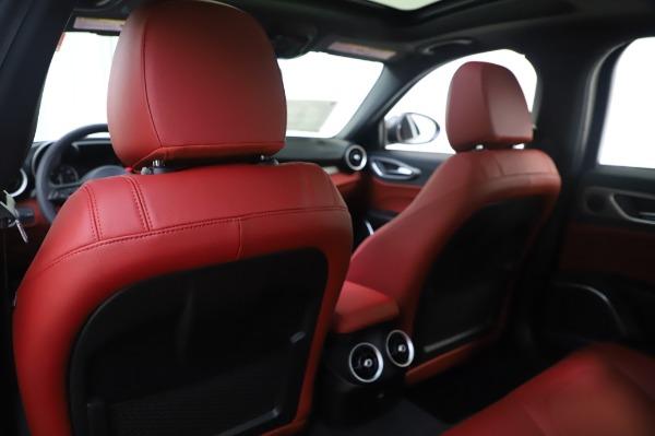 New 2020 Alfa Romeo Giulia Ti Sport Q4 for sale $46,495 at Alfa Romeo of Greenwich in Greenwich CT 06830 20