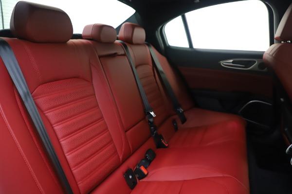 New 2020 Alfa Romeo Giulia Ti Sport Q4 for sale $46,495 at Alfa Romeo of Greenwich in Greenwich CT 06830 26
