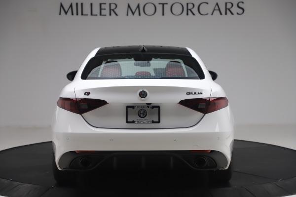 New 2020 Alfa Romeo Giulia Ti Sport Q4 for sale $46,495 at Alfa Romeo of Greenwich in Greenwich CT 06830 6