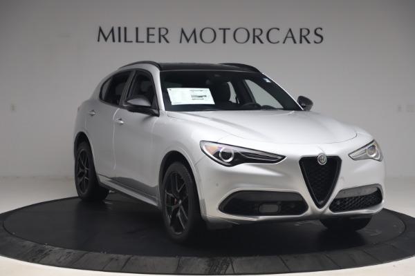 New 2020 Alfa Romeo Stelvio Ti Sport Q4 for sale $54,795 at Alfa Romeo of Greenwich in Greenwich CT 06830 11