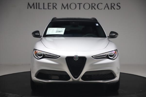 New 2020 Alfa Romeo Stelvio Ti Sport Q4 for sale $54,795 at Alfa Romeo of Greenwich in Greenwich CT 06830 12