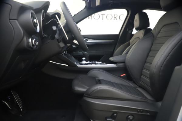 New 2020 Alfa Romeo Stelvio Ti Sport Q4 for sale $54,795 at Alfa Romeo of Greenwich in Greenwich CT 06830 14