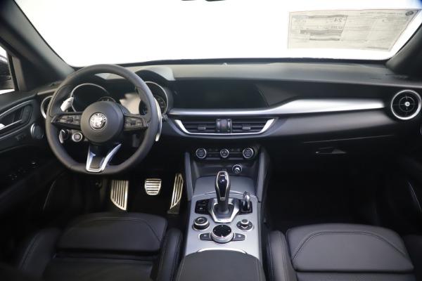 New 2020 Alfa Romeo Stelvio Ti Sport Q4 for sale $54,795 at Alfa Romeo of Greenwich in Greenwich CT 06830 16