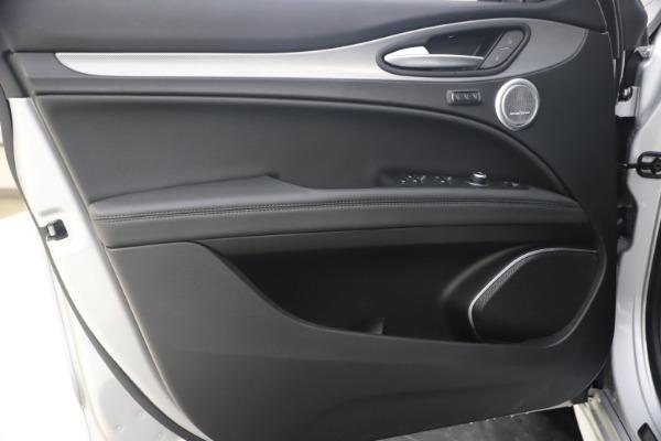 New 2020 Alfa Romeo Stelvio Ti Sport Q4 for sale $54,795 at Alfa Romeo of Greenwich in Greenwich CT 06830 17