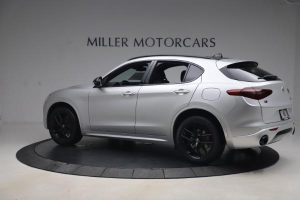 New 2020 Alfa Romeo Stelvio Ti Sport Q4 for sale $54,795 at Alfa Romeo of Greenwich in Greenwich CT 06830 4