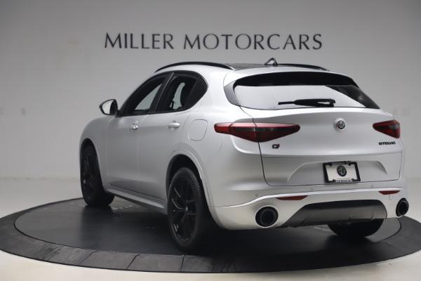 New 2020 Alfa Romeo Stelvio Ti Sport Q4 for sale $54,795 at Alfa Romeo of Greenwich in Greenwich CT 06830 5
