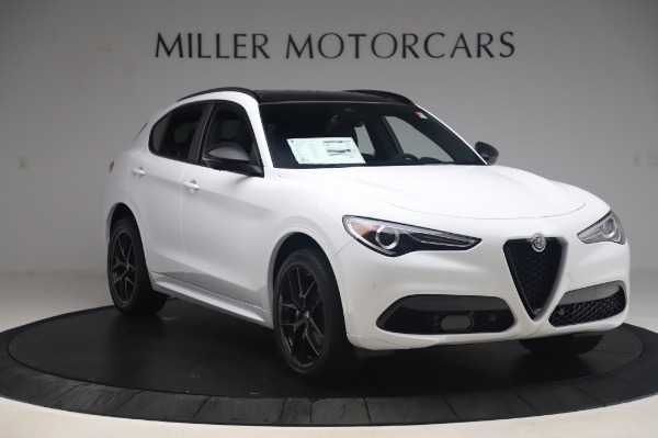 New 2020 Alfa Romeo Stelvio Ti Sport Q4 for sale $56,495 at Alfa Romeo of Greenwich in Greenwich CT 06830 11