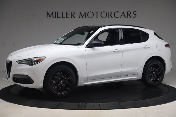 New 2020 Alfa Romeo Stelvio Ti Sport Q4 for sale $56,495 at Alfa Romeo of Greenwich in Greenwich CT 06830 2