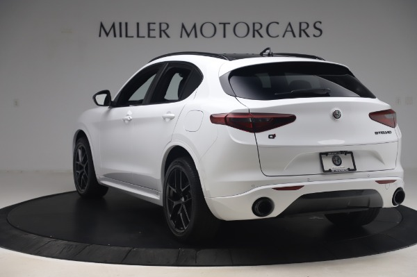 New 2020 Alfa Romeo Stelvio Ti Sport Q4 for sale $56,495 at Alfa Romeo of Greenwich in Greenwich CT 06830 5