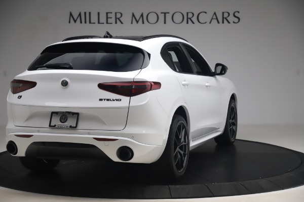 New 2020 Alfa Romeo Stelvio Ti Sport Q4 for sale $56,495 at Alfa Romeo of Greenwich in Greenwich CT 06830 7