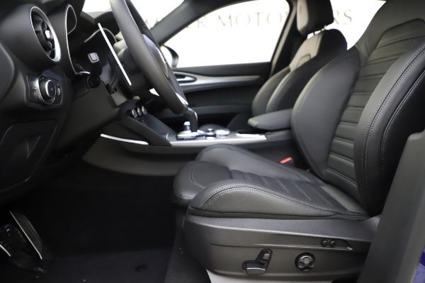 New 2020 Alfa Romeo Stelvio Ti Sport Q4 for sale $54,195 at Alfa Romeo of Greenwich in Greenwich CT 06830 12