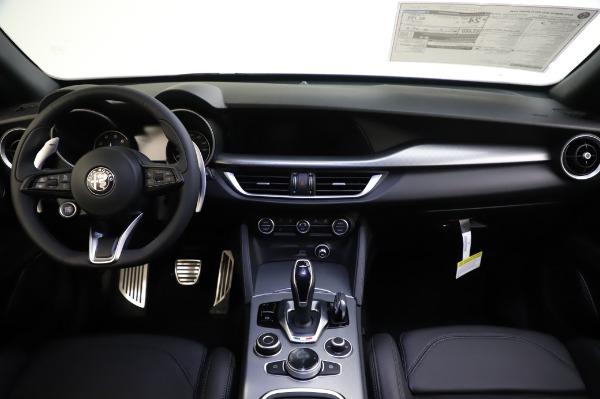 New 2020 Alfa Romeo Stelvio Ti Sport Q4 for sale $54,195 at Alfa Romeo of Greenwich in Greenwich CT 06830 18