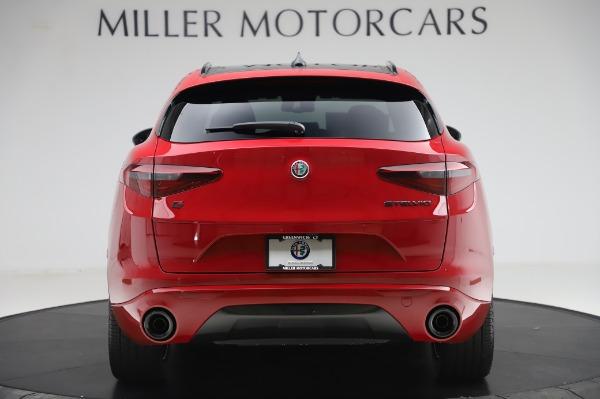 New 2020 Alfa Romeo Stelvio Ti Sport Q4 for sale $54,195 at Alfa Romeo of Greenwich in Greenwich CT 06830 4